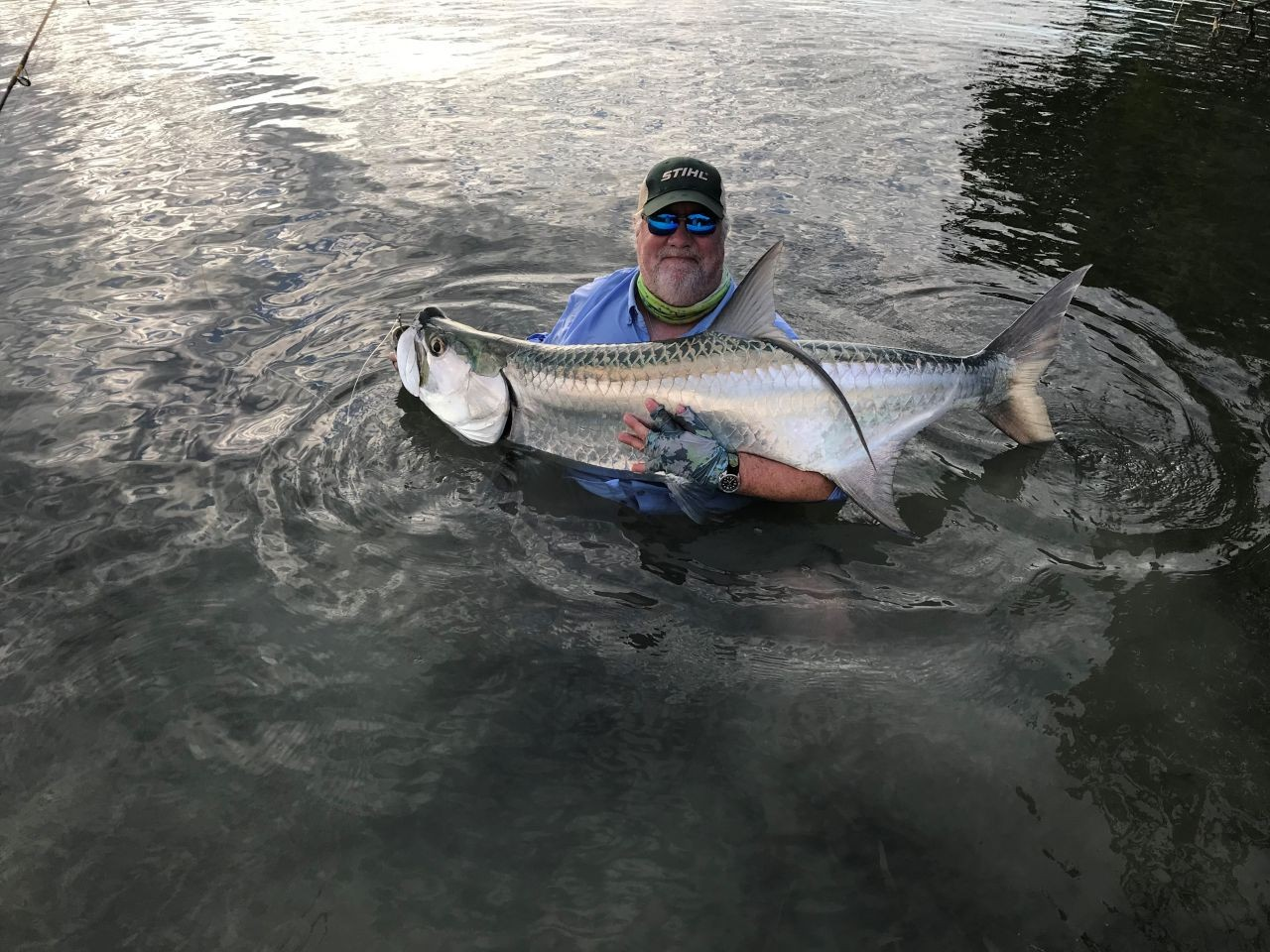 Ian-Pearce---Tarpon-Fishing---St.-Georges-Caye-Resort---Belize